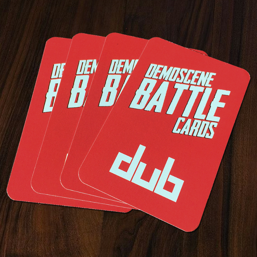 Demoscene Battle Cards
